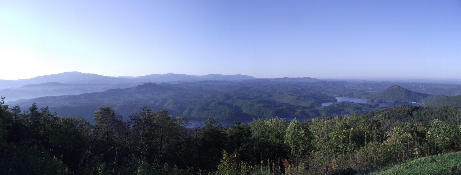chilhowee mountain overlook recreation area